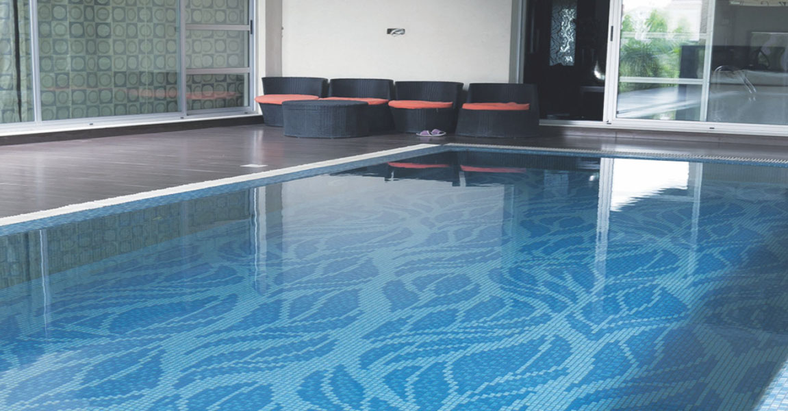 Porcelain Mosaics Tiles for Swimming Pool - Swimming Pool ...
